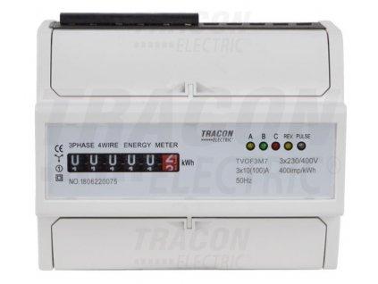3-fázový analógový elektromer 100A TVOF3M7