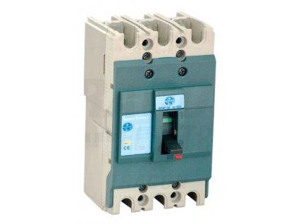 Miniatúrny kompaktný istič deón 3P 3x230/400V 125A 15kA MKM2-125