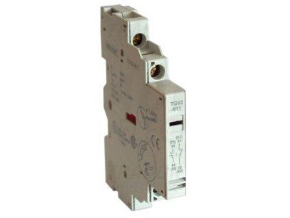 Blok bočných pomocných kontaktov k TGV2 1xNO+1xNC TGV2-N11