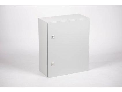 Oceľová rozvodná skriňa na povrch prázdna IP55 TFE605015