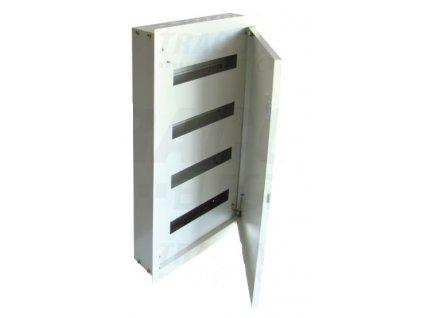 Plechová bytová rozvodnica 64 (4x16) podomietková IP42 EDSF-16/4