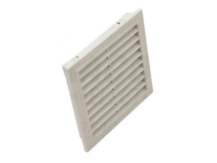 Ventilačná mriežka s filtračnou vložkou 150x150mm V150-KNY