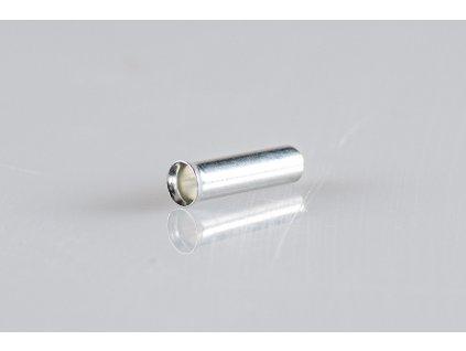 Neizolovaná lisovacia dutinka L=10mm 1x0,75mm E02N