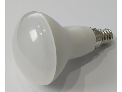 LED žiarovka hríbik R50 6W E14 6500K L243337