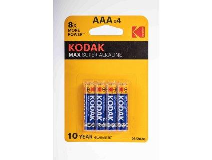 Batéria AAA 1,5V alkalická LR03 KODAK MAX super alkaline