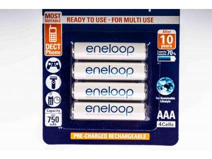 Nabíjateľná batéria AAA 1,2V Ni-MH 750mAh HR03 ENELOOP
