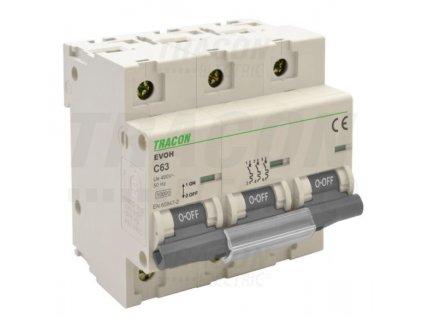 Výkonový istič 3P C80A 10kA EVOH380