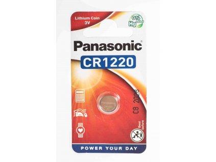 Batéria 3V CR1220 gombíková lítiová PANASONIC