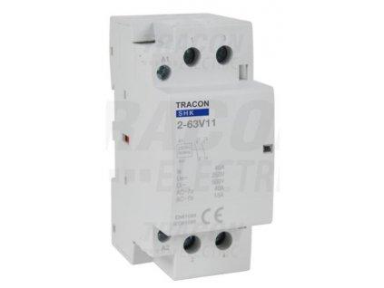Modulárny stykač 2modul 2P 63A 230V 1xNO+1xNC 230V AC SHK2-63V11