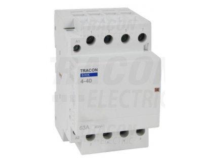 Modulárny stykač 3modul 3P/4P 40A 230V 4xNO 230V AC SHK4-40