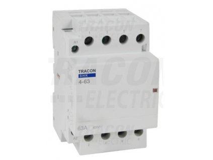 Modulárny stykač 3modul 3P/4P 63A 230V 4xNO 230V AC SHK4-63