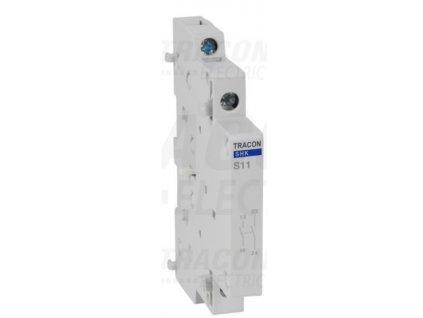 Pomocný kontakt 1xNO+1xNC ku modulárnemu stykaču SHK-S11