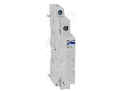 Pomocný kontakt 2xNO ku modulárnemu stykaču SHK-S20