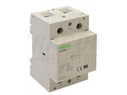 Modulárny stykač 3modul 2P 100A 230V 2xNO 230V AC EVOHK2-100