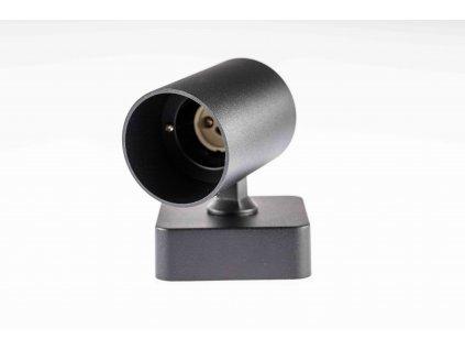 Stropné svietidlo natáčacie 1xGU10 Fredo čierne PL5450