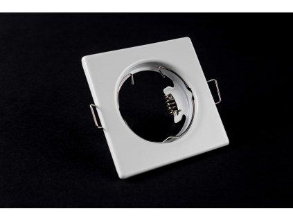 Bodové svietidlo štvorcové pevné biele PL0501