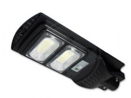Solárne pouličné LED svietidlo 100W 6000K IP65 + ovládač PL1191