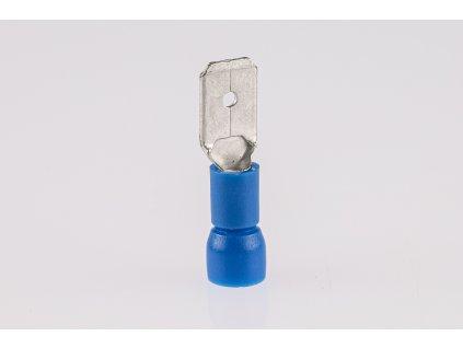 Káblový kolík medený 2,5mm2 lisovací izolovaný modrý KCS5