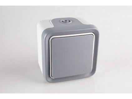Vypínač č.1/6 PLEXO na povrch 10A/250V IP55 069711 Legrand