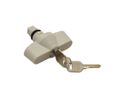 Bezpečnostný zámok s kľúčom ku rozvodným skriniam TME-ZM