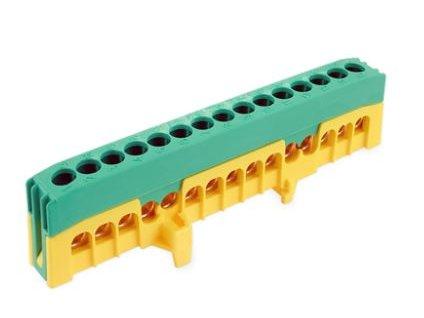 """1-pólový rozbočovací krytý mostík 15x16mm """"PE15-F2"""""""