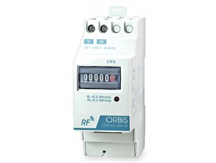 1-fázový analógový elektromer 32A 230V CONTAX 3221