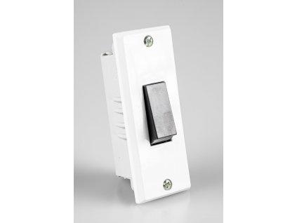 Vypínač č.6 biely do zárubne 3555-06428 ABB