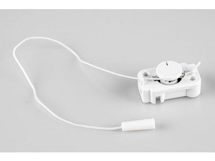 Šnúrový vypínač s tiahlom biely M200