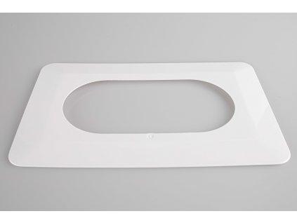 Kryt pod 2-rámček biely OSX-220 ZAMEL