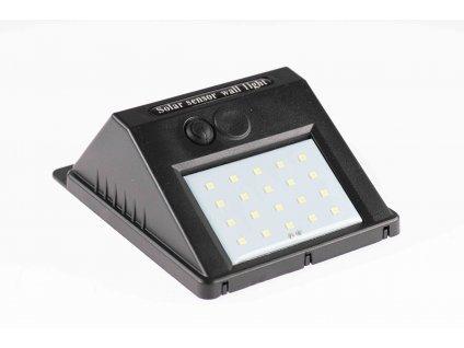 Solárne svietidlo 3W IP65 so senzorom čierne PL0515