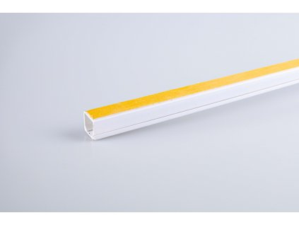 Samolepiaca lišta biela 16x16mm 2m
