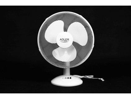 Ventilátor 30cm stolový biely AD7303