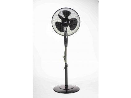 Ventilátor 40cm stojanový čierny AD7323B