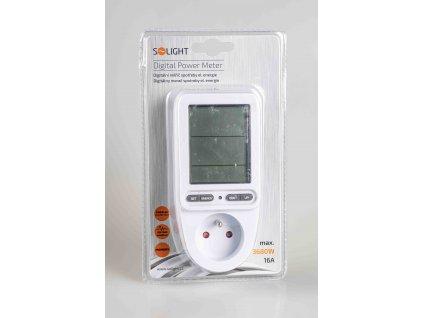 Digitálny zásuvkový merač spotreby energie DT27