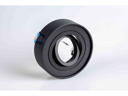 FIGO Bodové svietidlo okrúhle výklopné čierne IP20 PL1736