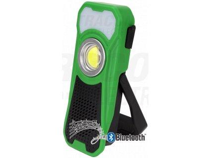 Akumulátorová ručná LED lampa s reproduktorom Bluetooth 10/3W 6000K 500lm IP44