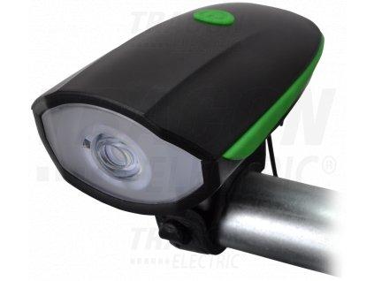 Predné LED svetlo na bicykel nabíjateľné 6-12h 3W 250lm IP64