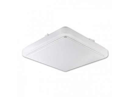 Stropné štvorcové LED svietidlo AURIS 24W 4000K IP44 biele PL6566