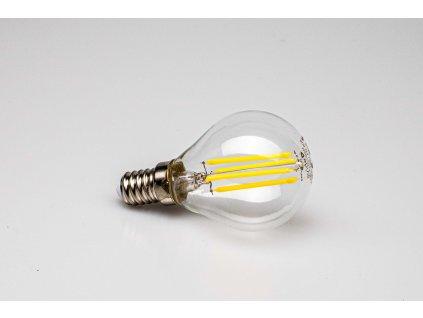 Dekoračná LED žiarovka E14 4W 4000K filament mini