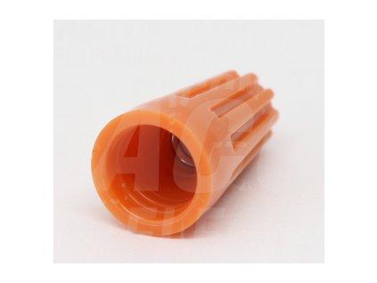 Spojka vodičov 0,5-1,5mm Trafix oranžová TFM1