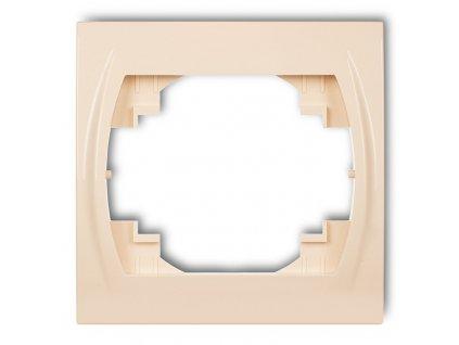1-rámček LOGO béžový 1LRH-1 5841