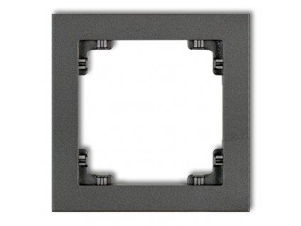 1-rámček DECO grafit 11DR-1 643