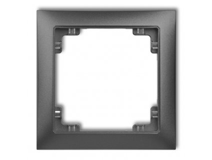 1-rámček DECO SOFT grafit 11DRSO-1 6784