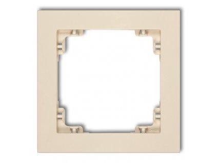 1-rámček DECO béžový 1DR-1 663