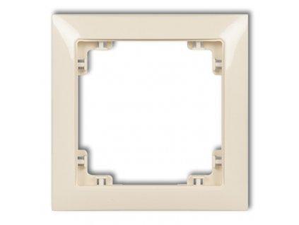 1-rámček DECO SOFT béžový 1DRSO-1 6779