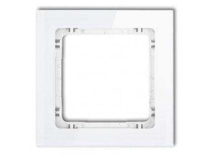 1-rámček DECO biely DR-1 636