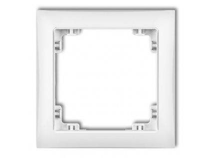 1-rámček DECO SOFT biely DRSO-1 6774