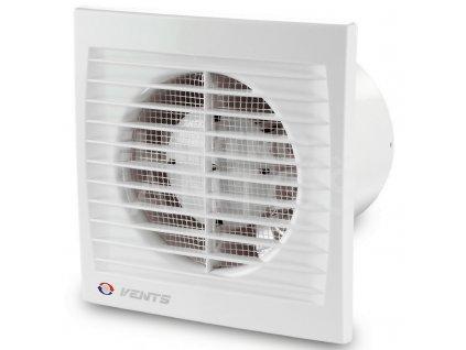Ventilátor bytový 95m3/h VENTS 100ST časový spínač