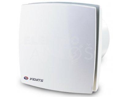 Ventilátor bytový 88m3/h VENTS 100LDT biely kryt časový spínač