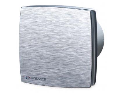 Ventilátor bytový 88m3/h VENTS 100LDAT hliníkový kryt časový spínač